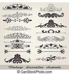 ouderwetse , decorative elements