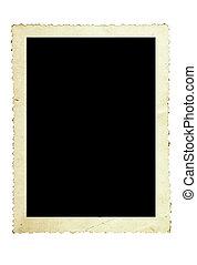 ouderwetse , frame, foto