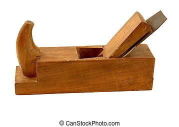 ouderwetse , hout, planer