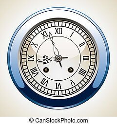ouderwetse , klok