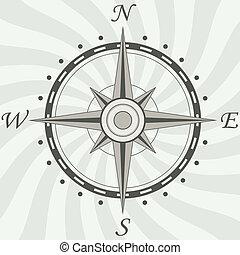 ouderwetse , kompas