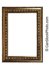 ouderwetse , kunst, frame