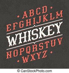 ouderwetse , lettertype