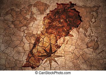 ouderwetse , libanon, kaart