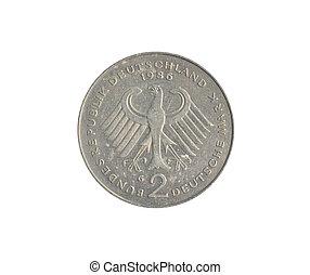 ouderwetse , munt, gemaakt, door, duitsland