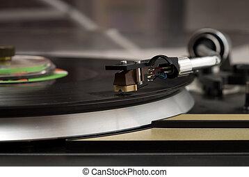 ouderwetse , muziek speler