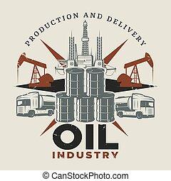 ouderwetse , olie, mal, extractie