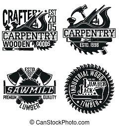 ouderwetse , ontwerp, logo