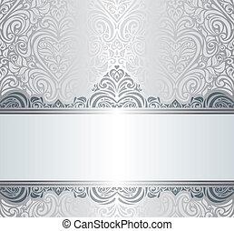ouderwetse , ontwerp, zilver, luxe