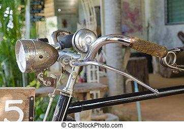 ouderwetse , oude fiets