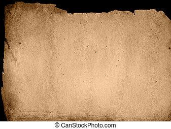 ouderwetse , papier, achtergrond