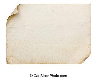 ouderwetse , papier, oud, textuur