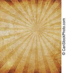 ouderwetse , papier, -, perfect, textured, achtergrond