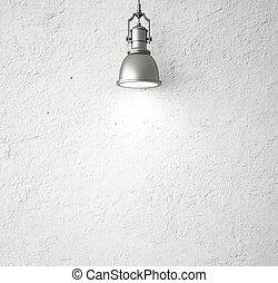 ouderwetse , plafond lamp