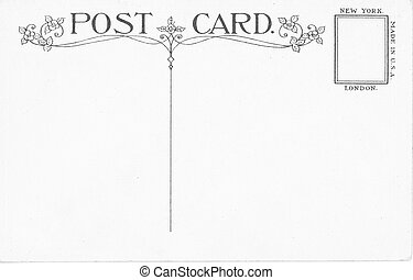 ouderwetse , postkaart
