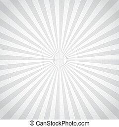 ouderwetse , radiaal, lijnen, model, geometrisch, zonnestraal