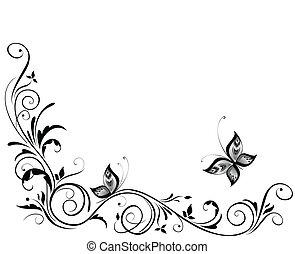 ouderwetse , trouwfeest, ontwerp