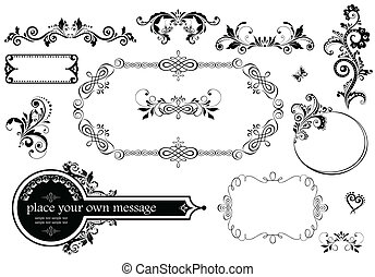 ouderwetse , trouwfeest, versiering