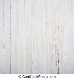 ouderwetse , witte , wooden table, achtergrond, hoogste mening