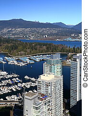 ouest, vancouver, fin