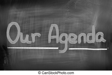 Our Agenda Concept