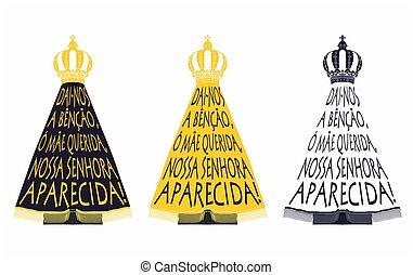 Our Lady Aparecida. Song of praise - Our Lady Aparecida...