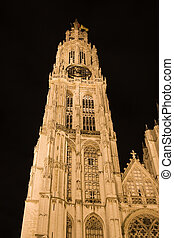 Our Lady cathedral in Antwerp, Belgium.