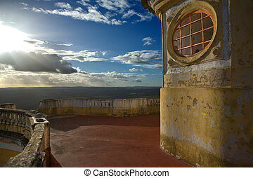 Our Lady of Grace Fort terrace - View of the Fortress of ...
