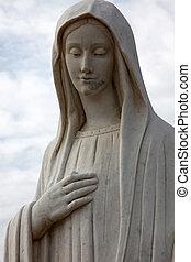 Our Lady of Medugorje in Medugorje on February 19, 2011.