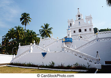 Our Lady of the Immaculate Conception Church - North Goa, Panaji, India