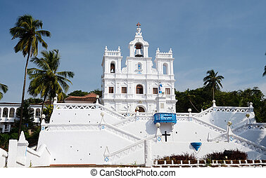 Our Lady of the Immaculate Conception Church - North Goa, Portuguese India