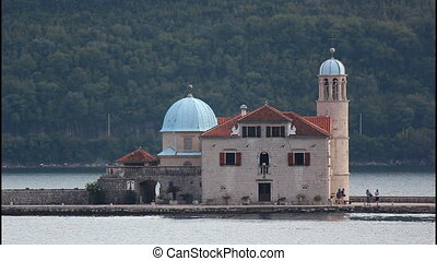 Our Lady of the Rocks, island, church, Montenegro