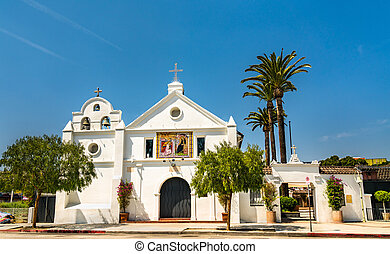 Our Lady Queen of Angels Catholic Church in Los Angeles, California