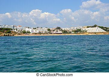 oura, spiaggia