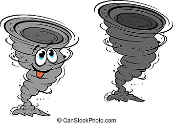 ouragan, dessin animé