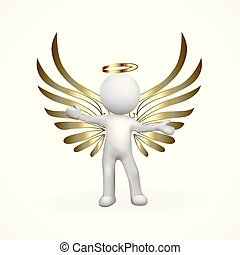 ouro, anjo