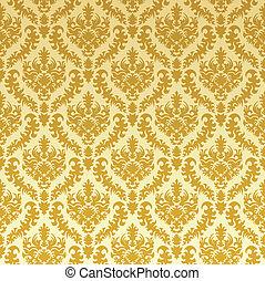 ouro, damasco