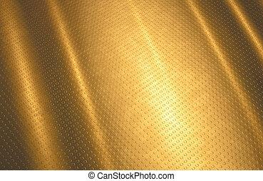 ouro, fundo