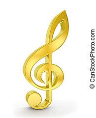 ouro, nota música