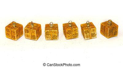 ouro, ornamentos