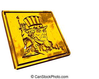 ouro, prato, independência, day.