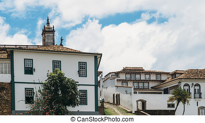 Ouro Preto, Minas Gerais, Brazil - Ouro Preto is a former...