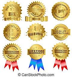 ouro, selos
