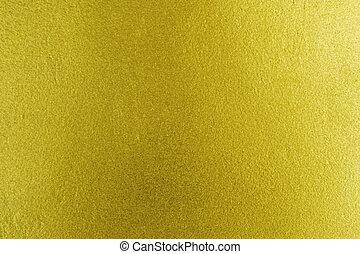 ouro, textura, fundo
