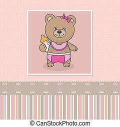 ours bébé, bouteille