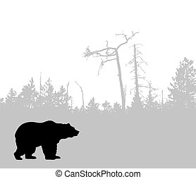 ours, silhouette