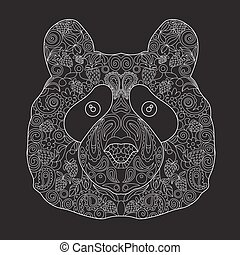 ours, zentangle