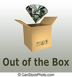 Out of the Box concept