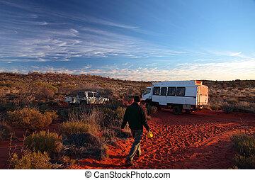 Outback - Adventure trip through central Australian desert.
