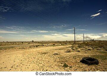 outback, california, stati uniti